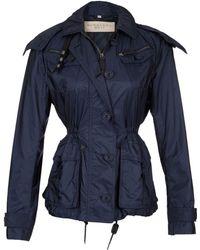 Burberry Blue Bielstead Jacket - Lyst