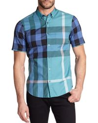 Burberry Brit Fred Checked Cotton Shirt - Lyst