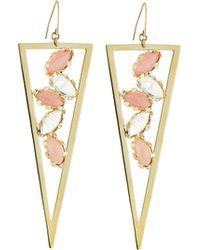 Lana Jewelry Ultra Dream 14K Gold Spike Earrings - Lyst