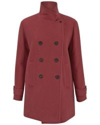 Paul by Paul Smith - Women'S Double-Breasted Wool-Mohair Coat - Lyst