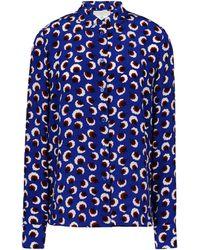Stella McCartney Blue Wilson Shirt - Lyst
