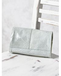 Free People Silver Duet Crossbody - Lyst