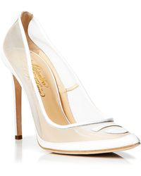Alejandro Ingelmo Pointed Toe Pumps - Tron Mesh High Heel - Lyst