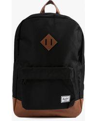 Herschel Supply Co. Heritage Backpack black - Lyst