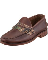 Eastland Eastbrook Usa Camo Penny Loafer - Lyst