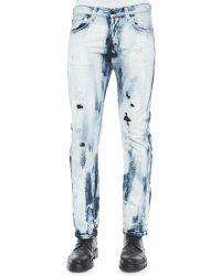 PRPS Blue Maniacs Demon Denim Jeans - Lyst