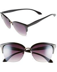 Fantaseyes | 57mm Retro Sunglasses | Lyst