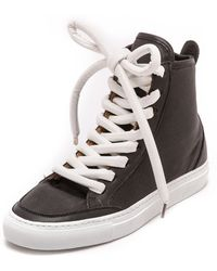 Maison Martin Margiela High Top Sneakers  Black - Lyst