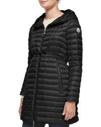 Moncler Barbel Hooded Down-Fill Knee-Length Jacket - Lyst