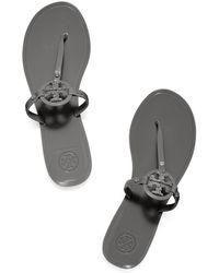 Tory Burch Mini Miller Jelly Thong Sandal - Lyst