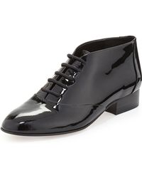 Rebecca Minkoff Paige Patent Leather Oxford - Lyst