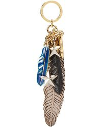 Coach Feathers And Stars Bag Charm - Lyst