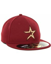 New Era Houston Astros Mlb Authentic Collection 59Fifty Cap - Lyst