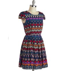 Moon Collection - I Heart Travel Dress - Lyst