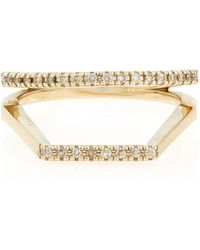 Hirotaka - Double Square Ring Size 7 - Lyst