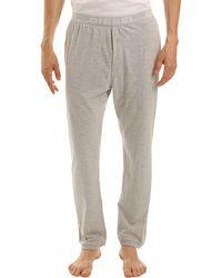 Diesel Massy J Grey Marl Pyjama Bottoms gray - Lyst
