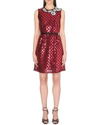 Marc Jacobs Cut-Out Sequinned Dress - Lyst