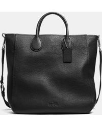 Coach Black Collection Tote - Lyst