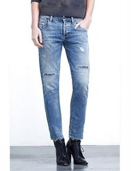 Citizens Of Humanity Corey Slouchy Slim Crop in Renegade - Lyst