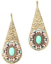 Samantha Wills - Rumours Unknown Earrings Turquoise - Lyst