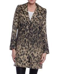 Smythe Leopard Lab Coat - Lyst