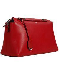 Fendi Handbag Bye Day Way Bauletto Leather - Lyst