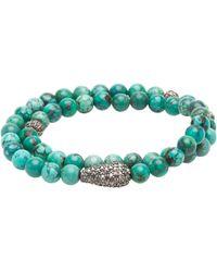 Ali Grace Jewelry - Bright 6mm Small Ball Wrap Bracelet - Lyst