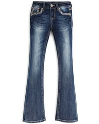 Grace In La - Girls' Pashmina Bootcut Jeans - Sizes 7-16 - Compare At $60 - Lyst