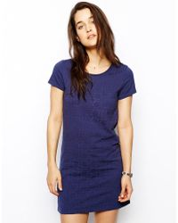 Jack Wills - Floral T-Shirt Dress - Lyst
