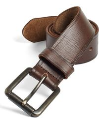 Johnston & Murphy Leather Belt - Lyst