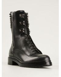 Sergio Rossi Rockstar Studded Boots - Lyst