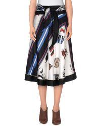 Alexis Mabille - Knee Length Skirt - Lyst