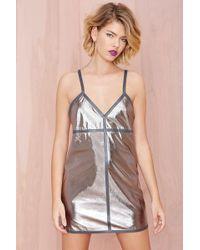 Nasty Gal Flash Back Dress - Lyst