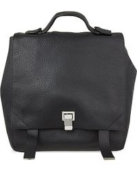 Proenza Schouler Courier Pebbled Leather Backpack - Lyst