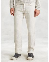 John Varvatos | Linen Authentic Jean | Lyst