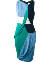 Peter Pilotto 'Margaux' Jersey Dress - Lyst