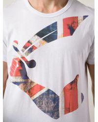 Vivienne Westwood Union Jack Sword T-Shirt - Lyst
