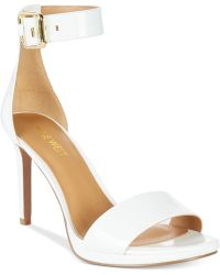 Nine West Meantobe Two-Piece Ankle Strap Sandals - Lyst