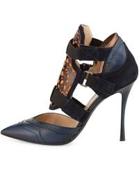 Nicholas Kirkwood Peter Pilotto Oxford Pump - Lyst