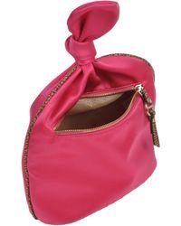 Borbonese Beauty Case pink - Lyst
