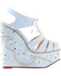 Charlotte Olympia 'Gene' Sandals - Lyst