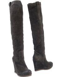 Jfk Brown Boots - Lyst