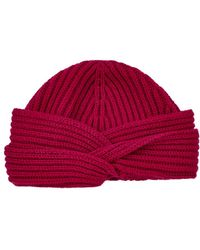 Harrods - Cashmere Turban Hat - Lyst