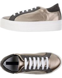 Blue Les Copains - Low-tops & Trainers - Lyst