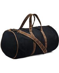 Kaufmann Mercantile | Wm J. Mills Waxed Cotton Duffle Bag | Lyst