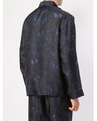 Valentino - Camubutterfly Pyjama-shirt - Lyst