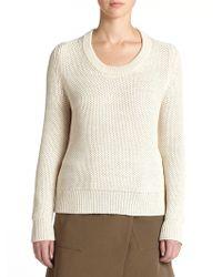 Belstaff Hudson Mesh-Knit Sweater - Lyst