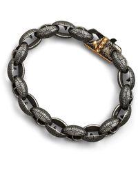 Stephen Webster - Matte Steel Link Bracelet - Lyst
