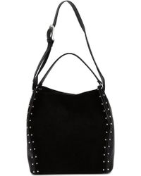 CoSTUME NATIONAL | Studded Bucket Tote | Lyst