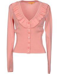 Catherine Malandrino Cardigan pink - Lyst